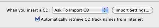 Best iTunes settings for importing songs from CD - Macintosh