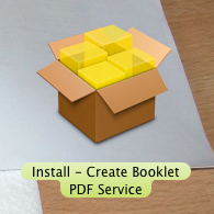 How to print a PDF booklet  - Macintosh How To