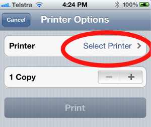 How to Air Print to a non-airprint printer from your iPad or