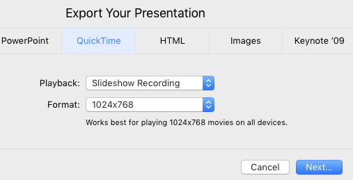 How to time a Keynote Presentation to a music soundtrack