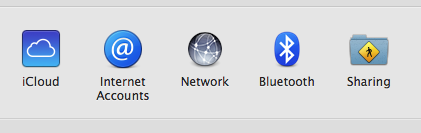in System Preferences find 'Internet Accounts'