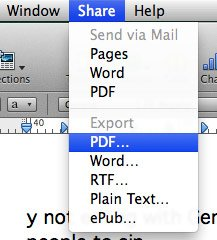 Make sure both the files are PDF files