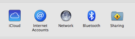 Open System Preferences and find 'iCloud'