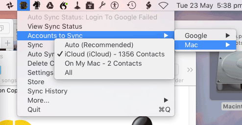 How to sync your Apple Address Book (Contacts) with Google