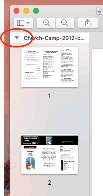 How to merge a PDF document with High Sierra OS X 10 13
